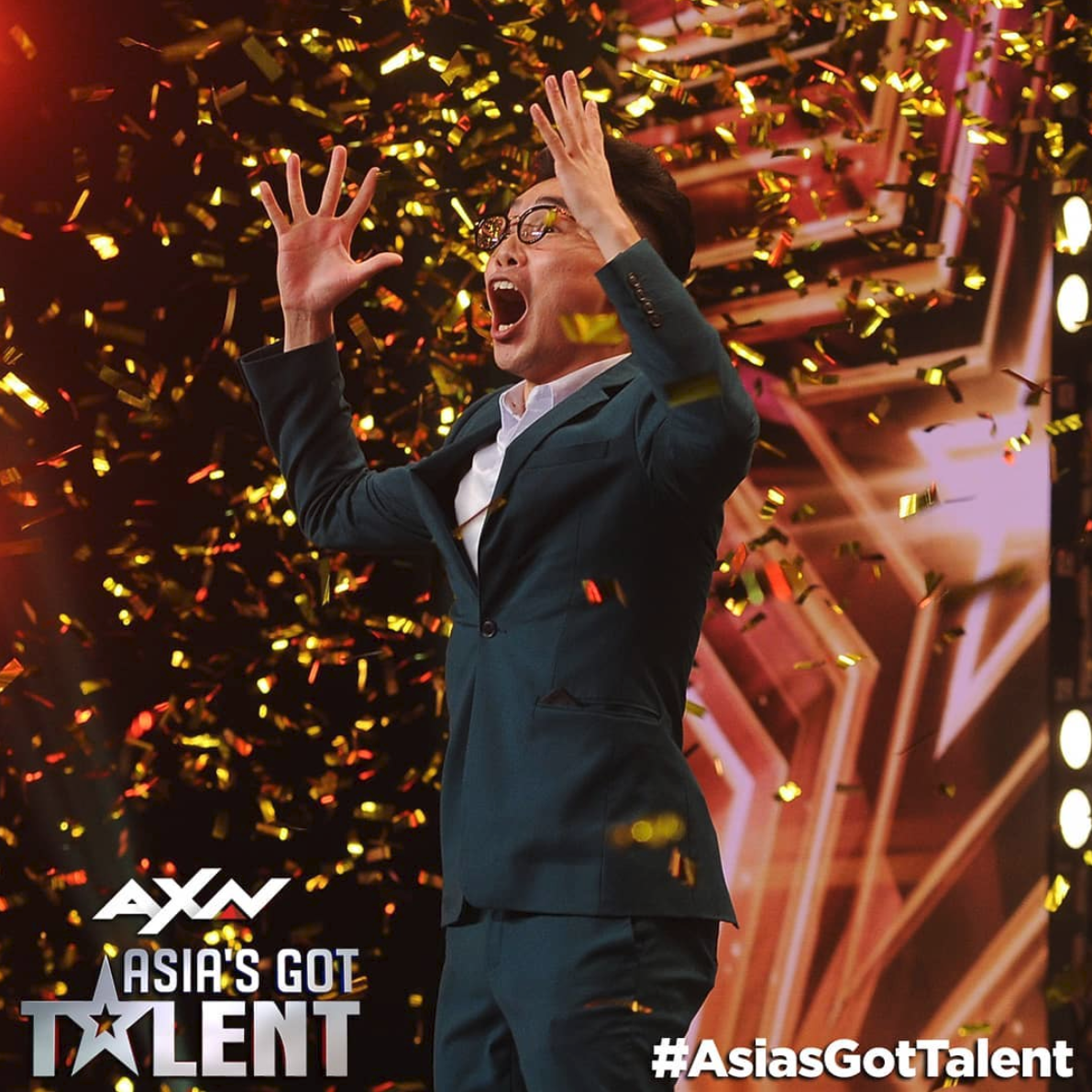 Singapore's Golden Buzzer Magician